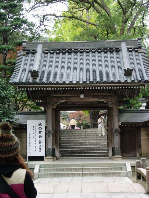 神社の入り口